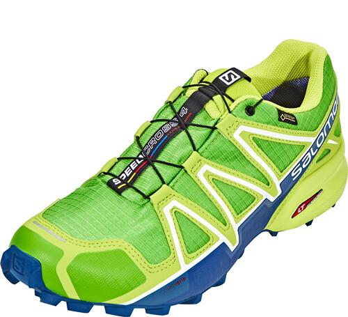 M. Solomon Vitesse Croix 4 Sentier Chaussures De Course - Vert - 45 1/3 Ue xdYYBl